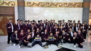 Pelantikan Binusian 2020 at JCC